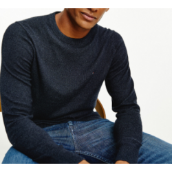 PULL ROND COTTON/CASHEMIRE...